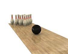 Free Bowling Royalty Free Stock Photography - 18185037