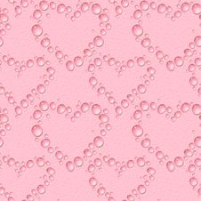 Free Water Drops Heart Royalty Free Stock Photos - 18185498