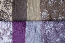 Fabric In Many Shade. Royalty Free Stock Photos