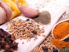 Free Spices Royalty Free Stock Photo - 18185755