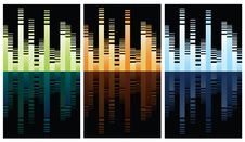 Free Multicolored Equalizer On Black Stock Photography - 18185852