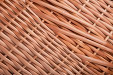 Free Wicker Basket Background Stock Image - 18186021