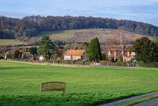 An English Rural Hamlet Stock Photos