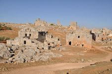 Free Dead City Of Serjilla, Syria Stock Photos - 18186193
