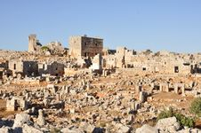 Free Dead City Of Serjilla, Syria Stock Photo - 18186270