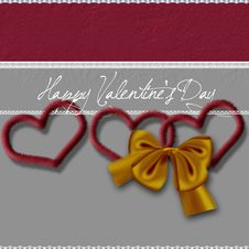 Valentine S Heart Stock Photography