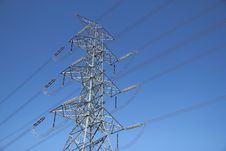 Free Big Electricity Post Stock Image - 18186861