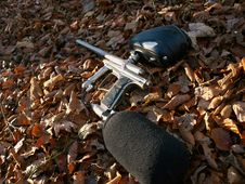 Free Paintball Gun Stock Images - 18186864