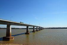 Free Thai-Lao Friendship Bridge Stock Photography - 18186982