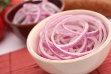 Free Red Onions Royalty Free Stock Image - 18187396