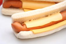 Free Hot Dogs Royalty Free Stock Images - 18187449