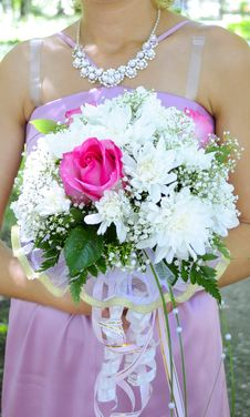 Free Wedding Bouquet Stock Photography - 18187492