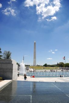 Free Washington Monument Royalty Free Stock Photos - 18188518