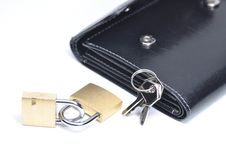 Free Abstract Lock Your Wallet Stock Images - 18188764