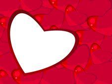 Free Frame-hearts Royalty Free Stock Photo - 18188905