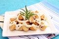 Free Fresh Salad Of Mushrooms Royalty Free Stock Photo - 18191615