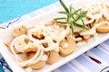 Free Fresh Salad Of Mushrooms Stock Photography - 18192162