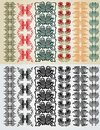 Free Art Nouveau Colection Pattern Royalty Free Stock Photography - 18195487
