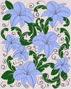Free Flower Pattern Stock Photography - 18195822