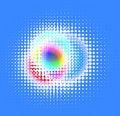 Free Halftone Effect, Vector Stock Image - 18199171