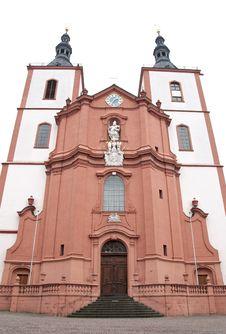 Chirch Saint Blasius In Fulda, Germany Stock Images
