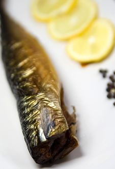 Free Smoked Fish Stock Photo - 18190350