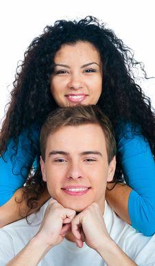 Free Smiling Couple Stock Photo - 18190390