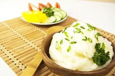 Free Mashed Potatoes Royalty Free Stock Images - 18190439