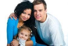 Free Happy Family Royalty Free Stock Photo - 18190635