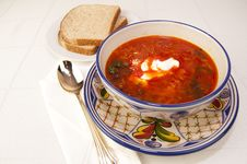 Free Vegetable Soup Stock Images - 18190684