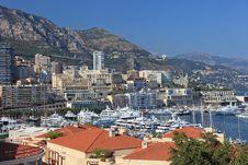 Free Cityscape Of Monaco. Stock Images - 18191154