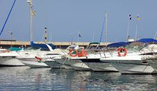 Free Yachts In Harbor. Stock Photography - 18191172