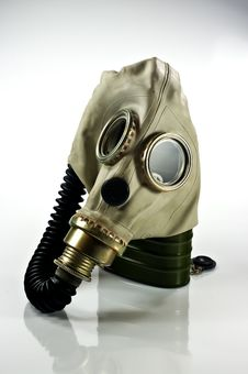 Free Gas Mask Royalty Free Stock Photo - 18191565