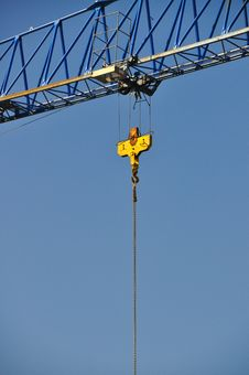 Free Construction Crane Stock Image - 18191911