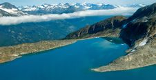 Free Glacial Lake. Royalty Free Stock Photos - 18192088