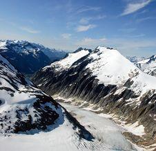 Mountain Ridge. Stock Photos