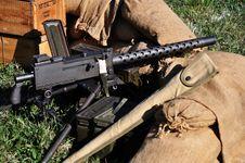 Free Machine Gun Royalty Free Stock Image - 18192266