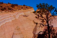Tent Rocks In New Mexico Royalty Free Stock Image