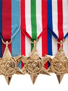 Free World War II Canadian Star Medals Royalty Free Stock Images - 18192819