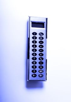 Free Calculator Royalty Free Stock Photo - 18193575