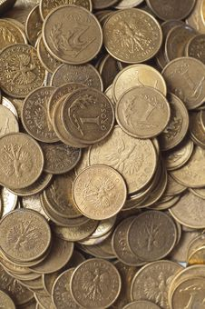Free Coins Of Polish Currency Zloty Stock Images - 18194554