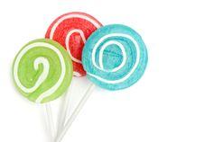 Free Lollipops Royalty Free Stock Photos - 18195028