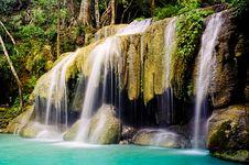 Free Erawan Waterfall Stock Photo - 18195260