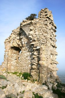 Free Kantara Castle Royalty Free Stock Photography - 18195807