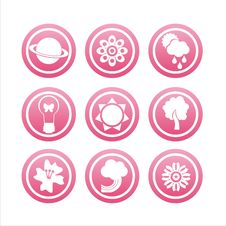 Free Pink Nature Signs Stock Photo - 18196040