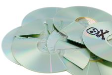 Free Compact Disk Royalty Free Stock Photography - 18196177
