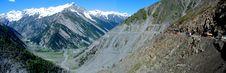 Vast Ladakh Landscape Royalty Free Stock Image