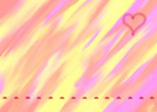 Free Celebratory Card To The Valentine S Day Stock Photo - 18196580