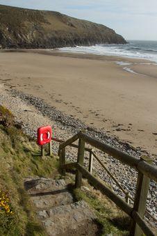 Free Beach Path. Royalty Free Stock Image - 18196746