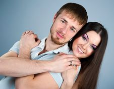 Free Young Couple Royalty Free Stock Photo - 18196985